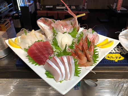 まちぶせ鮮魚盛